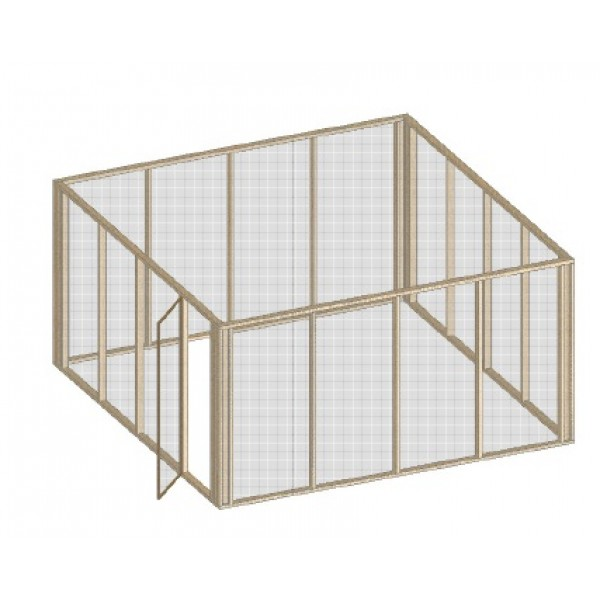 Diy chicken coop plans build your own coop for Chicken run plans