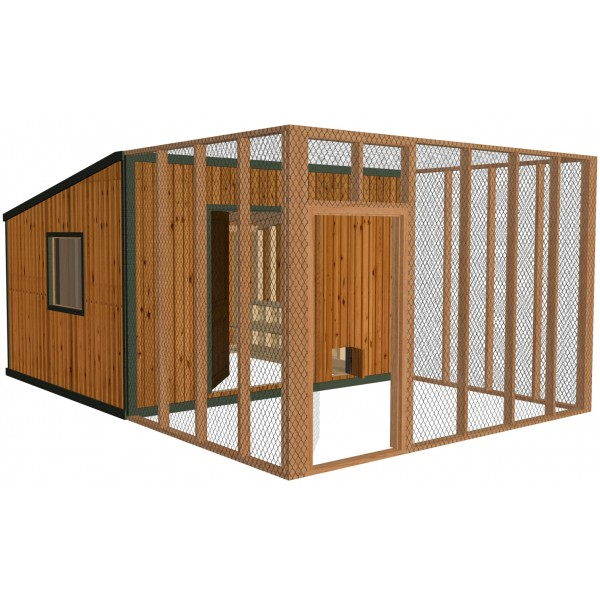 Diy chicken coop plans build your own coop for Poultry house plans for 100 chickens