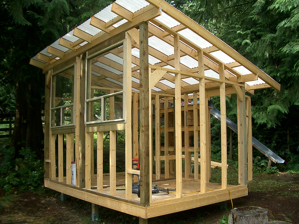 Cost of building your own small chicken coop for Cost of building own home